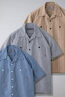 BLUCOブルコSTANDARD_WORK_SHIRTS_S/Sスタンダードワークシャツ_半袖_OL-108-21