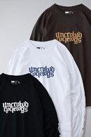 UNCROWDアンクラウドPRINT_L/S_TEE'S長袖Tシャツ-uct-UC-801