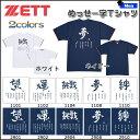 野球 アンダーシャツ ベースボールシャツ 一般 ゼット ZETT メッセー字Tシャツ 半袖 丸首 メンズ【bb-40】 ラスト1品