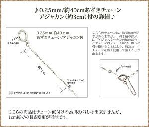0.25mm/40cmあずきチェーン詳細