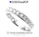 THJの母の日♪ 0.5ct プラチナ900 THJ「縁」エタニティリング D0.5ct 高品質SIクラス以上 15石 Pt900 ダイヤモンド専門店