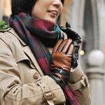 レザーグローブレディスバイカラー革手袋イタリア製【AntonioMurolo】アントニオ・ムローロ【楽ギフ_包装】【RCP】【02P01Nov14】