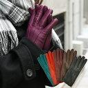 手袋 レザー手袋 革手袋 イタリア製 カシミヤライニング スナップボタン シンプル レディース レザーグローブ おしゃれ かわいい 暖かい 防寒 ギフト スナップボタン付き イタリアンレザー カシミヤ100%ライニング あす楽