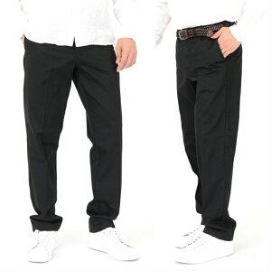 ワーク パンツ ノータック スラックス チノパン ズボン 大きいサイズ 小さいサイズカジュアル ネイビー ベージュ ブラック裾上げ加工対応できます綿 ゆったりシルエット ノータックチノパン