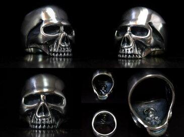 ◆2009/スカルKRシルバーリング Keith Skull Ring キーススカルリング シルバーアクセサリーメンズアクセサリー レディース