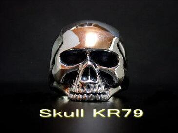◆【Large Type】 Keith Skull Ring キーススカルリングシルバーアクセサリー シルバーリング メンズ レディース