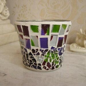 モザイクカップグラスホルダー/アール