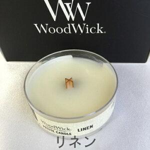 WoodWickプチキャンドルリネン