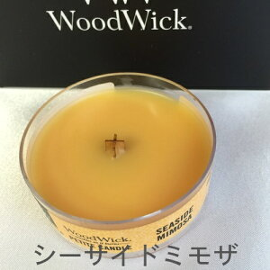 WoodWickプチキャンドルシーサイドミモザ