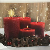 LEDキャンバスクリスマス