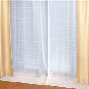 抗アレルゲン 断熱カーテン 100cm×225cm×2枚セット ホワイト(W) AL-102