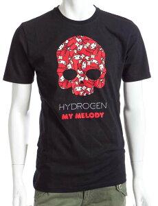 ハイドロゲン HYDROGEN サンリオ sanrio Tシャツ メンズ P810030F5 ブラック 楽ギフ_包装 アウ...
