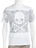 ハイドロゲン HYDROGEN ハイドロゲン Tシャツ 半袖 丸首 メンズ 140112 ホワイト×グレー 送料無料 楽ギフ_包装 アウトレット 3000円OFF クーポンプレゼント HYD大量入荷