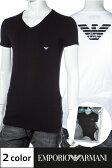 アルマーニ Tシャツ エンポリオアルマーニ Emporio Armani 半袖 Vネック Tシャツ イーグル メンズ 111274 CC725 楽ギフ_包装 アウトレット 送料無料