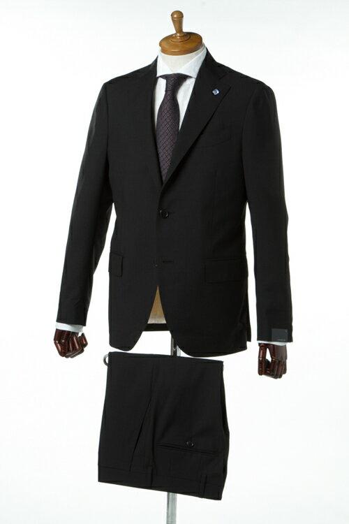ラルディーニ LARDINI スーツ ビジネススーツ 2つボタン シングル ブートニエール ECE メンズ EC423AQ 48325 ブラック3000円OFF クーポンプレゼント 2017SS_SALE:DIFFUSION