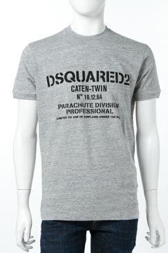 ディースクエアード DSQUARED2 Tシャツ 半袖 丸首 メンズ S74GD0170S22742 グレー 送料無料 楽ギフ_包装 3000円OFF クーポンプレゼント