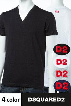 ディースクエアード DSQUARED2 Tシャツアンダーウェア Tシャツ 半袖 Vネック メンズ D9M450890 楽ギフ_包装 3000円OFF クーポンプレゼント DSQ限定特価