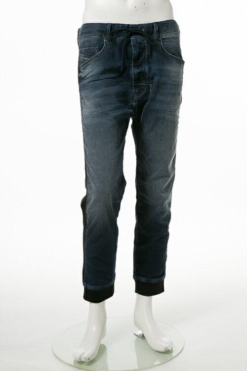 ディーゼル DIESEL ジーンズパンツ デニム JOGGJEANS ジョグジーンズ ジョガーパンツ NARROT-NE JP Sweat jeans メンズ 00SIUG 0670V ブルー  楽ギフ_包装 10%OFFクーポンプレゼント 【ラッキーシール対応】