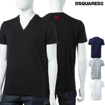 ディースクエアード DSQUARED2 Tシャツアンダーウェア Tシャツ 半袖 Vネック メンズ D9M450890 楽ギフ_包装 10%OFFクーポンプレゼント DSQ限定特価 【ラッキーシール対応】