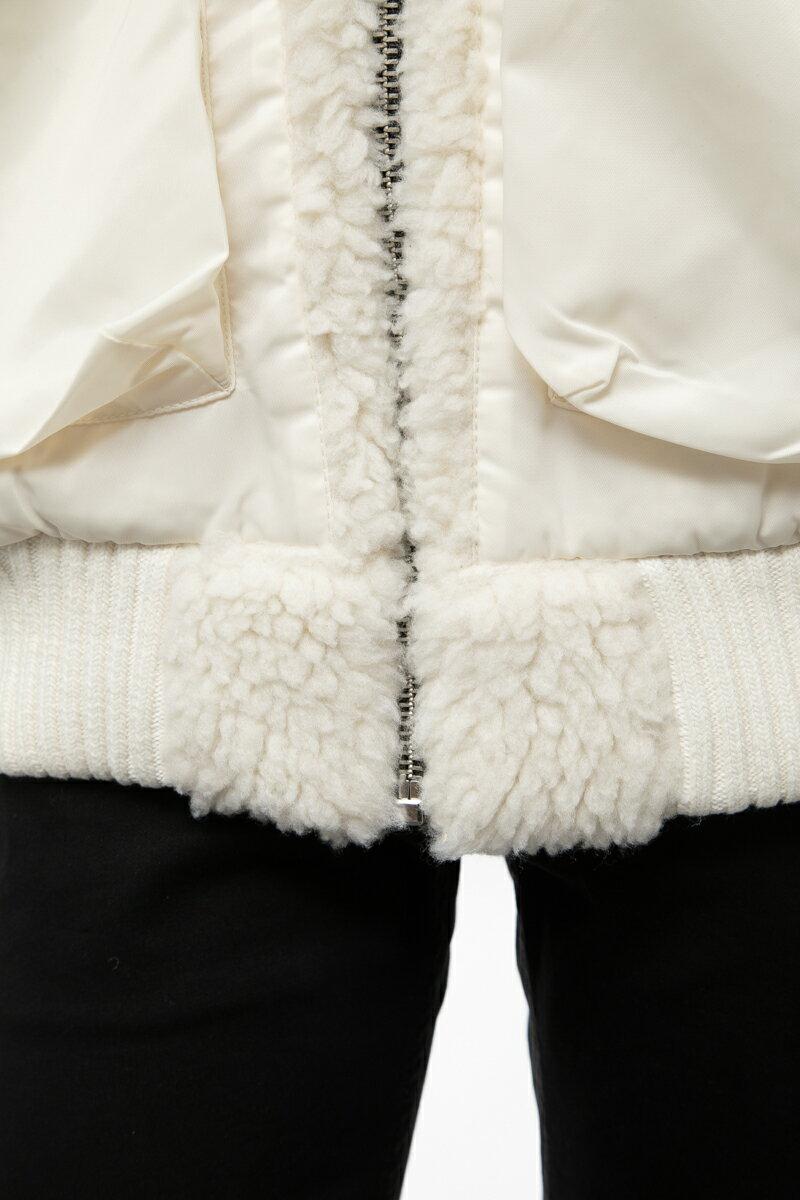 ディーゼル DIESEL ダウンブルゾン ダウンジャケット W-PATTY GIACCA メンズ 00SIIH 0JASV ホワイト  10%OFFクーポンプレゼント 【ラッキーシール対応】