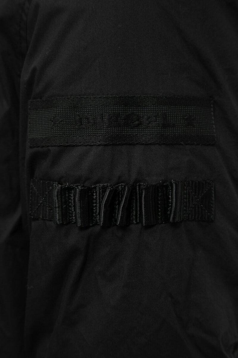 ディーゼル DIESEL ダウンコート W-BULLION GIACCA メンズ 00SIIJ 0GAQD ブラック  10%OFFクーポンプレゼント 【ラッキーシール対応】