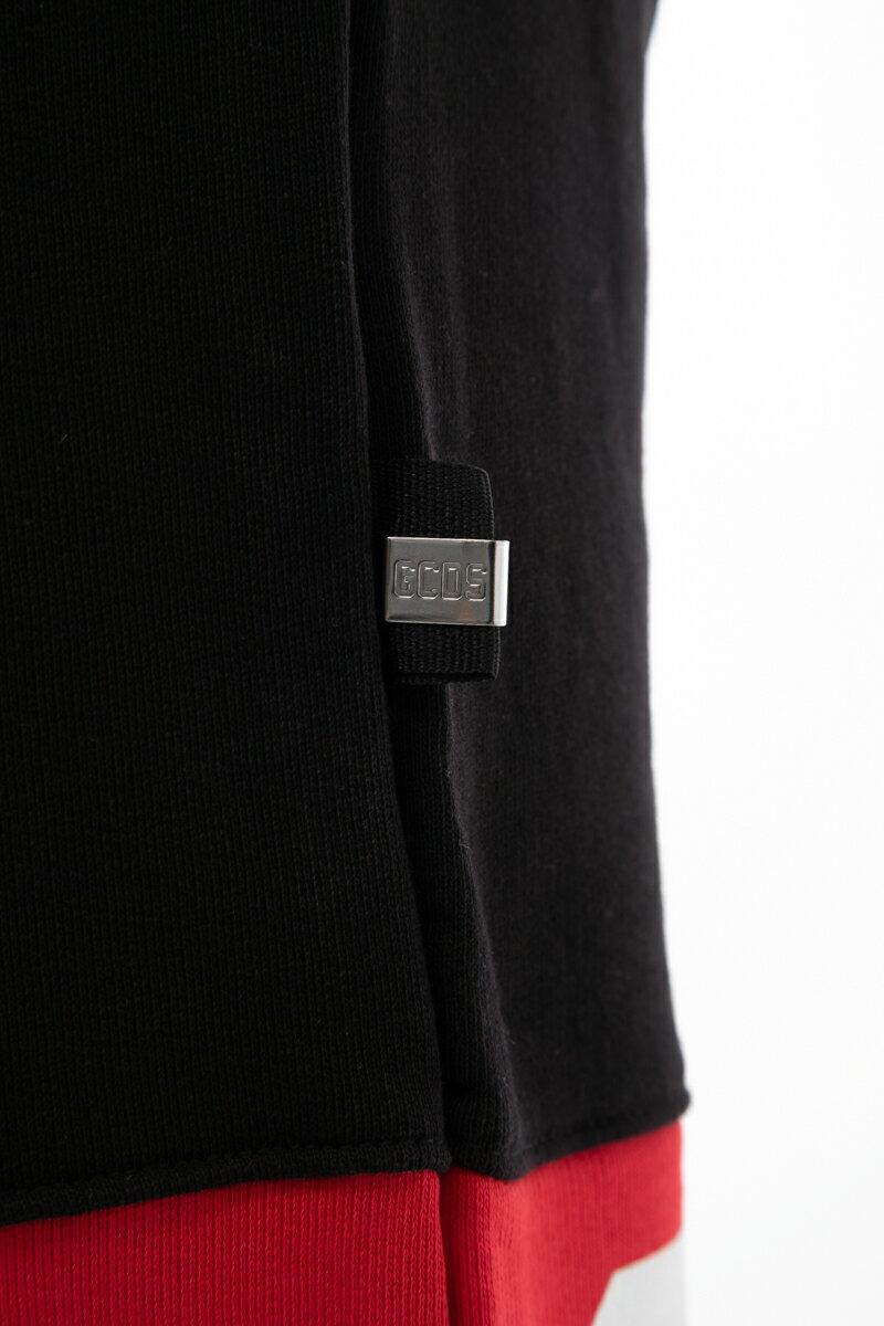 ジーシーディーエス GCDS トレーナーパンツ スウェットパンツ セットアップ上下別売 メンズ CC94U030037 ブラック  楽ギフ_包装 10%OFFクーポンプレゼント 2019年秋冬新作 【ラッキーシール対応】