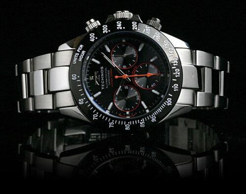 【★予約★12/20入荷予定】DIAMONDLIMITEDGREEN世界限定50本モデルTECHNOSテクノスクロノグラフメンズ腕時計T4286SG