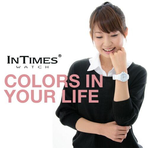 【お買い物マラソン】※お一人様1個限り※シチズン製ムーブ搭載!INTIMES(インタイムス)日本初上陸ブランド!迫力の44mmシリコンダイバーメンズサイズ腕時計選べる13色♪【BIG】