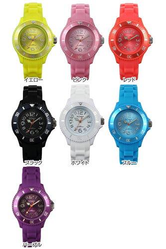 INTIMES(インタイムス)かわいい36mmシリコンレディース/キッズサイズ腕時計選べる7色♪【子供/ペア/家族】【SMALL】