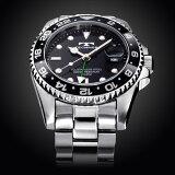 TECHNOS テクノス 腕時計 メンズ 20気圧 日常生活用強化防水 逆回転防止ベゼル ダイバー GMT