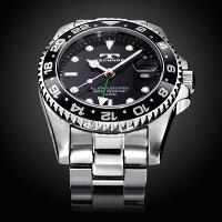 TECHNOSテクノス20111/12秋冬コレクションGMT限定モデルメンズ腕時計T2134SB