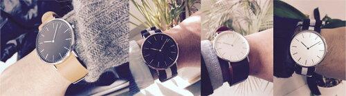 ≪40mmケース≫スリムでシンプル!着せかえられる全く新しい腕時計シチズン日本製ムーブ搭載!ベルトを着せかえてスタイリングが楽しめる!ベルト幅20mmメンズ/レディース渋め/レトロ/モダン/スタイリッシュ時計本体(ベルト別売り)≪メール便送料無料≫