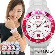 INTIMES インタイムス 44mm 防水 シリコン ラバー ダイバー ウォッチ メンズ レディース 腕時計 アナログ カラフル アウトドア ホワイト IT057MD