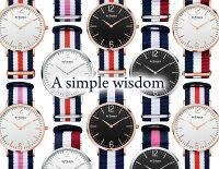 INTIMESインタイムス36mmシンプルスリム腕時計モダン大人かわいいシチズン製ムーブ搭載メンズレディースアナログカジュアル