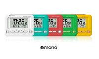 iimonoオリジナル目覚まし時計電波デジタルカレンダー温度表示