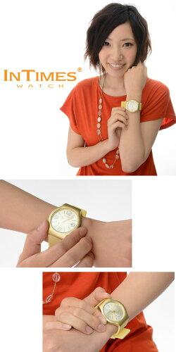 INTIMES(インタイムス)日本初上陸ブランド!スイスメーカームーブ搭載鮮やかで軽いアルミニウム素材まったく新しいデザインウォッチメンズ/レディースサイズ腕時計選べる9色♪【watch_0521】