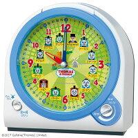 SEIKOセイコークロック目覚まし時計置き時計CQ157Wきかんしゃトーマスセイコー目覚まし時計セイコー置き時計知育時計スイープライト付音量調節おしゃれ