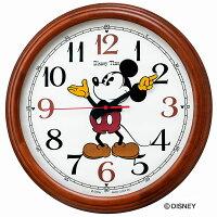 SEIKOCLOCKセイコークロックディズニー掛け時計壁掛け電波時計FW582B直径50cmグリーン購入法対応ミッキーミニーミッキー&フレンズキャラクタースイープおしゃれかわいい【お取り寄せ】