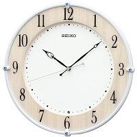 掛け時計 セイコー 電波時計 掛け時計 壁掛け KX242B 壁掛け スイープ スワロフスキー おしゃれ