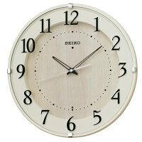 SEIKOCLOCK(セイコークロック)掛け時計電波アナログアイボリーKX397A【お取り寄せ】