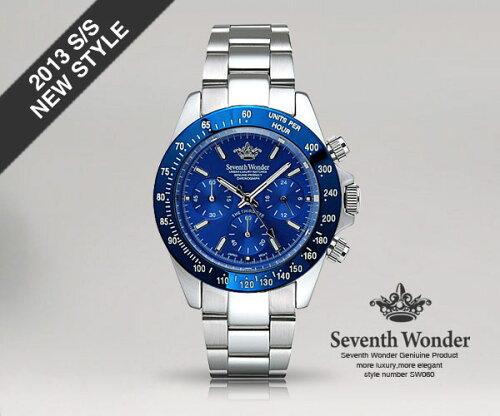 【=予約=】SeventhWonderセブンス・ワンダーTHETHIRDEYEOCEANメンズ腕時計SW0603