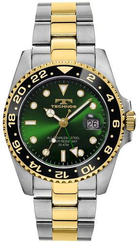 TECHNOSテクノス20111/12秋冬コレクションGMT限定モデルメンズ腕時計T2134TG