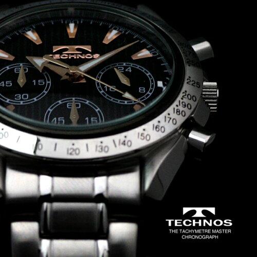 TECHNOSテクノスクロノグラフ限定モデルメンズ腕時計T2111SP