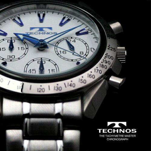 TECHNOSテクノスクロノグラフ限定モデルメンズ腕時計T2111SS