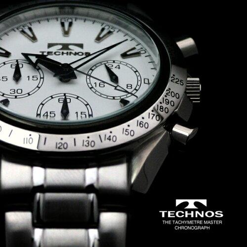 TECHNOSテクノスクロノグラフ限定モデルメンズ腕時計T2111SW