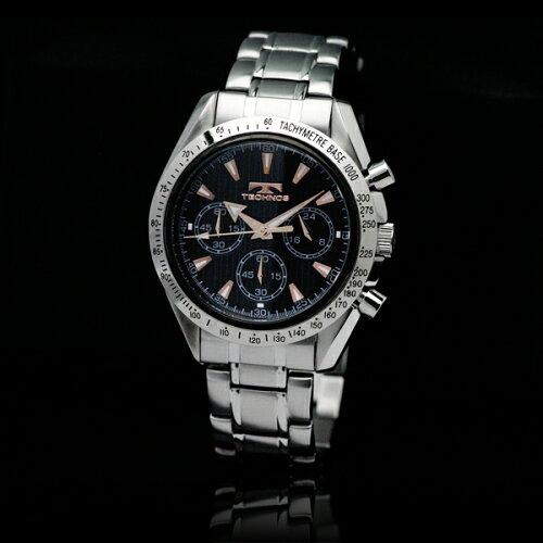 TECHNOSテクノス2011秋冬コレクションクロノグラフ限定モデルメンズ腕時計T2111SP
