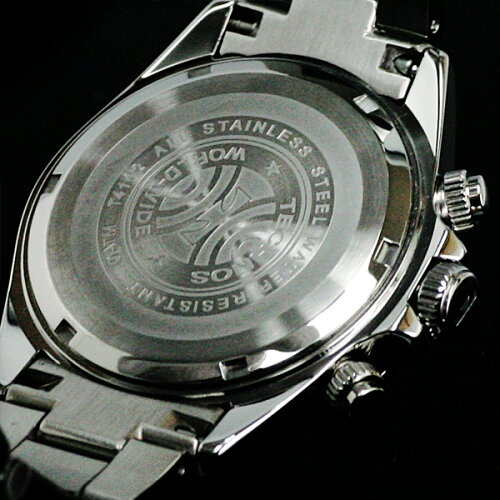 TECHNOSテクノスクロノグラフジルコニア・リミテッド限定モデルメンズ腕時計T4102グリーン【バンド調整工具ブレゼント】