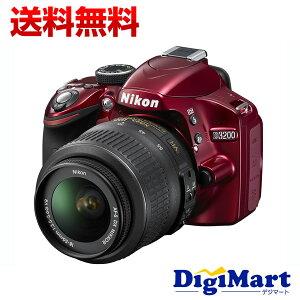 【送料無料】ニコン NIKON D3200 ボディ [レッド] デジタル一眼レフカメラ【新品・国内正規品】