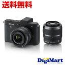 【送料無料】ニコン NIKON Nikon 1 V1 ダブルズームキット [ブラック] デジタル一眼レフカメラ...