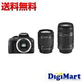 【送料無料】キャノン Canon EOS Kiss X7 ダブルズームキット デジタル一眼レフカメラ【新品・国内正規品】